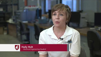 Washington State University TV Spot, 'Haily Holt and Robosub Club'