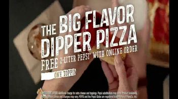Pizza Hut Big Flavor Dipper Pizza TV Spot, 'Bigger' - Thumbnail 9