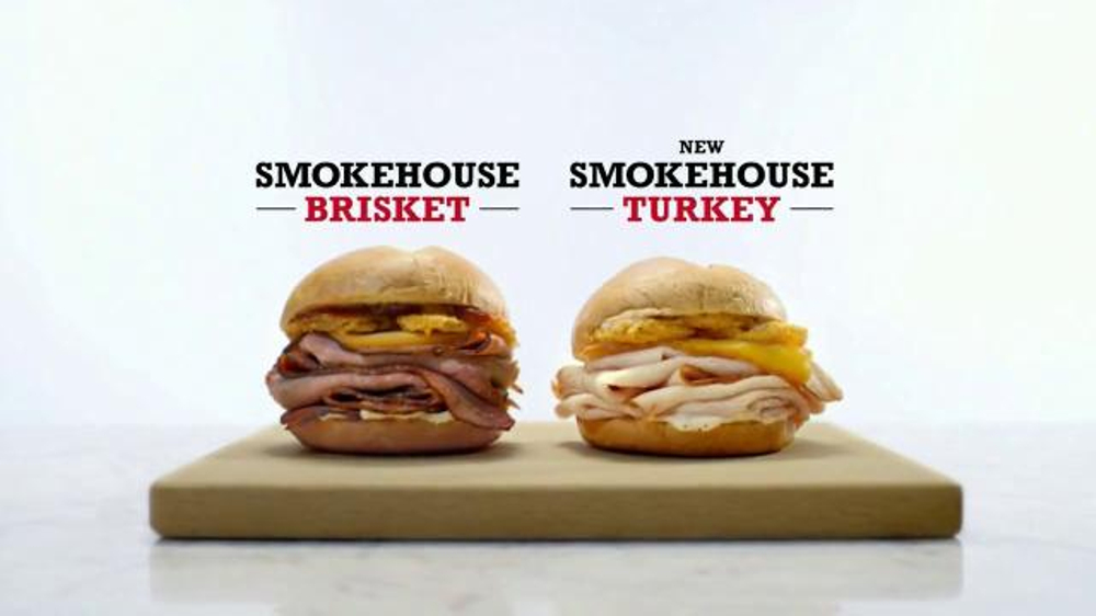 Arby's Smokehouse Turkey TV Commercial, 'Real Fire, Real