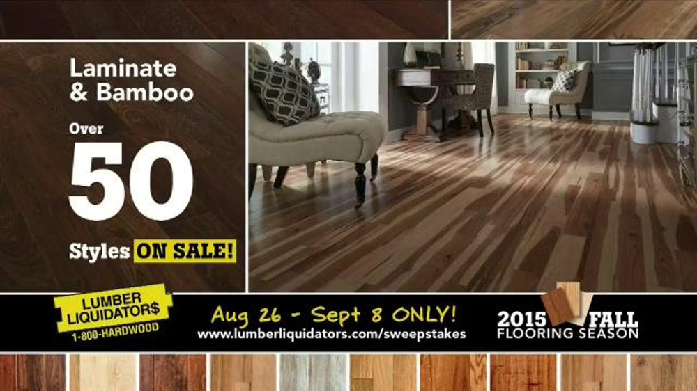 Lumber Liquidators Fall Flooring Kick Off Sale Tv