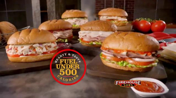 ... Firehouse Subs Under 500 Calories Menu TV Spot, U0027Hearty And Flavorful  Menuu0027 ...