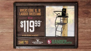 Gander Mountain Tv Commercial Gift Card Tree Stand And