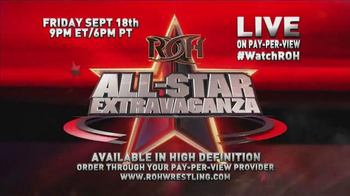 ROH Wrestling TV Spot, '2015 All-Star Extravaganza'