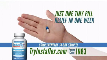 Instaflex TV Spot, 'Say Goodbye to Joint Pain'