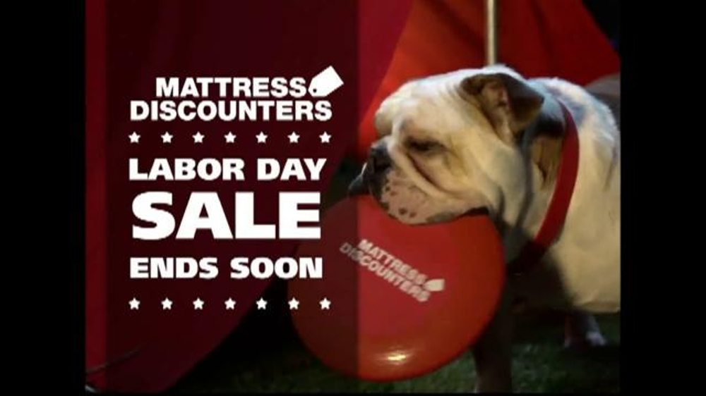 Mattress Discounters Labor Day Sale TV mercial
