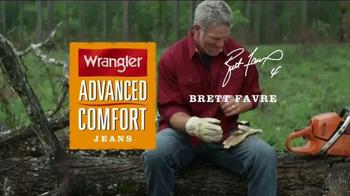 Wrangler Advanced Comfort Jeans TV Spot, 'Durable' Featuring Brett Favre