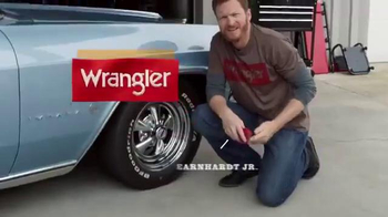 Wrangler Advanced Comfort TV Spot, 'Out and About' Ft. Dale Earnhardt, Jr.