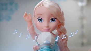 Disney Frozen Singing Elsa TV Spot, 'Magic Sing-along'
