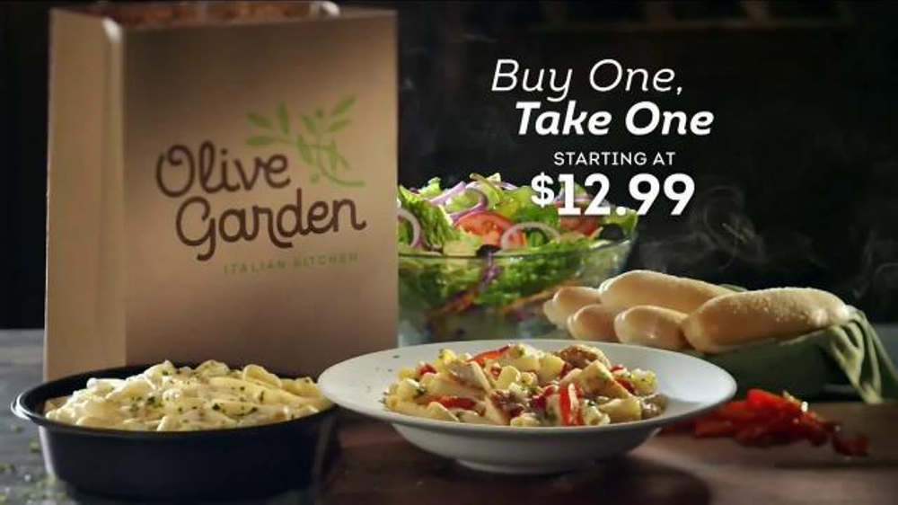 Olive Garden Buy One Take One Tv Commercial 39 It 39 S Back 39