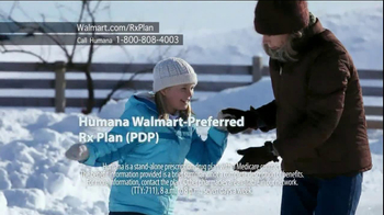Humana Walmart-Preferred Rx Plan TV Spot, 'Snow'