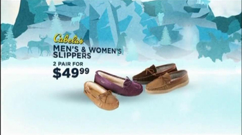 Cabela's Christmas Sale TV Spot, 'Slippers'  - Thumbnail 5