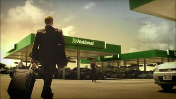 National Car Rental TV Spot, 'Airport' Featuring Patrick Stewart - Thumbnail 6