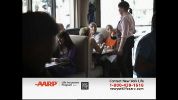 AARP Life Insurance Program TV Spot, 'Diner'