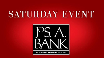 JoS. A. Bank Saturday Event TV Spot, 'Sportcoats, Dress Pants, Sportshirts'