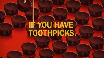 Reese's Miniatures TV Spot, 'Toothpicks'