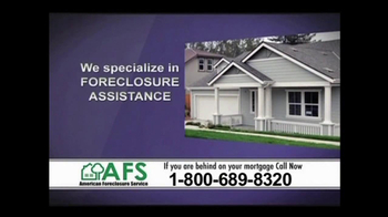 American Foreclosure Service TV Spot \'Mortage Payments\'