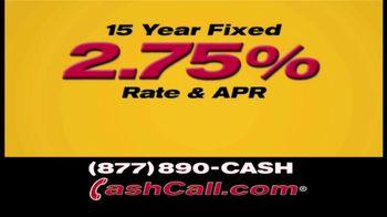 Cash Call Do-Over Refi TV Spot, 'Curtain: 2.75%'