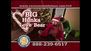 Vermont Teddy Bear TV Spot, 'Holiday' - Thumbnail 3