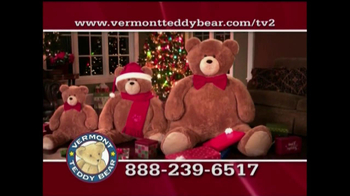 Vermont Teddy Bear TV Spot, 'Holiday'