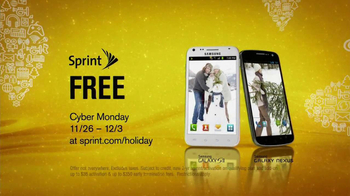 Sprint Cyber Monday TV Spot, 'Free Galaxy' - Thumbnail 7
