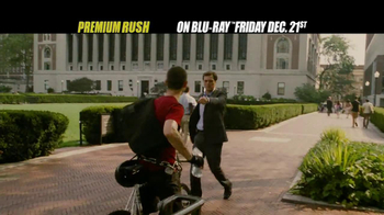 Premium Rush Blu-ray TV Spot
