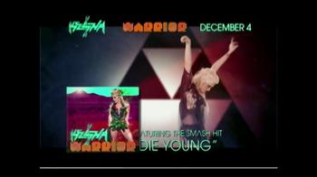 Kesha Warrior TV Spot  - 12 commercial airings