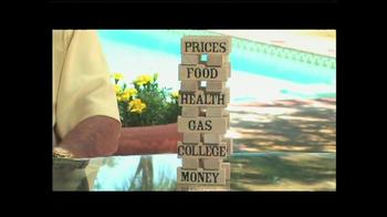 Swiss America TV Spot, 'Paper vs. Gold' Featuring Pat Boone