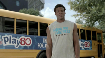 NFL Play 60 TV Spot, 'Your Mom's Favorite Player', Featuring Cam Newton - Thumbnail 5