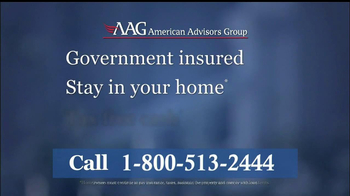 American Advisors Group TV Spot, 'Government Insured' Feat. Fred Thompson - Thumbnail 6
