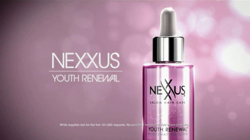 Nexxus Youth Renewal Elixir TV Spot