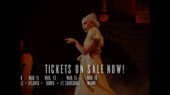Lady Gaga's Born This Way Ball TV Spot  - Thumbnail 8