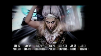 Lady Gaga's Born This Way Ball TV Spot  - Thumbnail 4