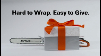 Stihl TV Spot 'Hard to Wrap'