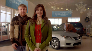 Honda Holidays Sales Event TV Spot, 'Dear Honda: Stubborn Dad'