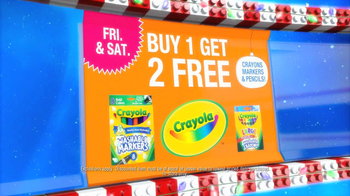 Toys R Us Update TV Spot, 'Big Brand Blitz: Crayola'