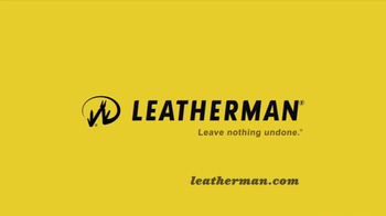 Leatherman TV Spot, 'Hoover Dam, Empire State Building, Swing Set'