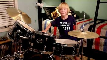 Guitar Center TV Spot, 'Drum Set: Hey, Mom'