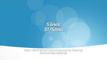 AT&T Mobile Share for Business TV Spot, 'Sharing' - Thumbnail 9