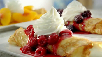 IHOP TV Spot, 'Sweet Cream Cheese Crepes'