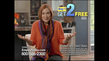 Empire Today TV Spot, 'Buy One, Get Two Sale'