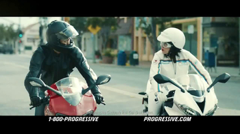 Progressive Motorcycle TV Spot, 'Flo Rides' - 12983 commercial airings