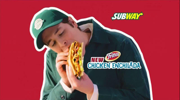 Subway Fritos Chicken Enchilada Melt TV Spot, 'Crunch a Munch a' - Thumbnail 2