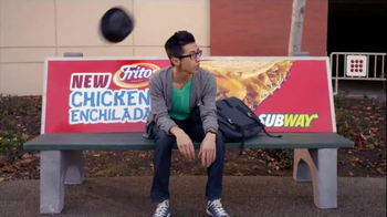 Subway Fritos Chicken Enchilada Melt TV Spot, 'Crunch a Munch a' - Thumbnail 4