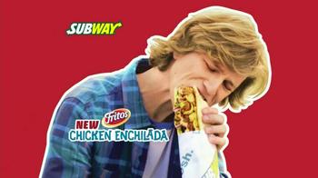 Subway Fritos Chicken Enchilada Melt TV Spot, 'Crunch a Munch' - Thumbnail 2