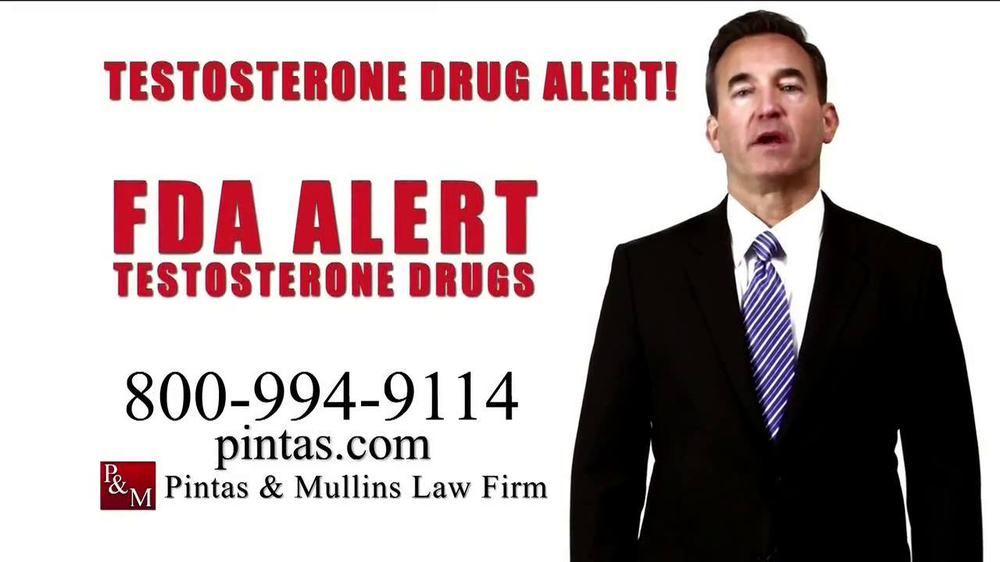 Pulaski Law Firm >> Pintas & Mullins Law Firm TV Commercial, 'Testosterone Alert' - iSpot.tv