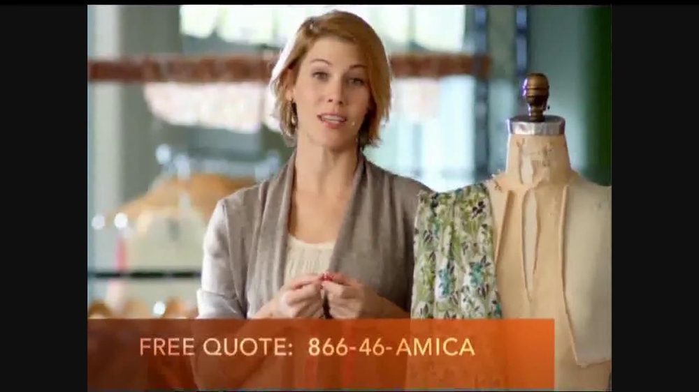 Amica Mutual Insurance Company Tv Commercial 39 Demands