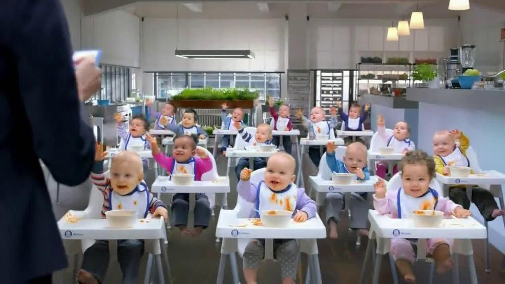Gerber Baby Food Commercials