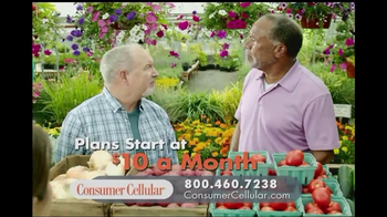 Consumer Cellular TV Spot, 'Garden'