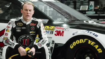 Goodyear TV Spot Tire Talk The Force Of 3Gs Featuring Kevin Harvick