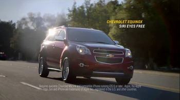 2014 Chevrolet Equinox with Siri Eyes Free TV Spot, 'The New Connected' - Thumbnail 10